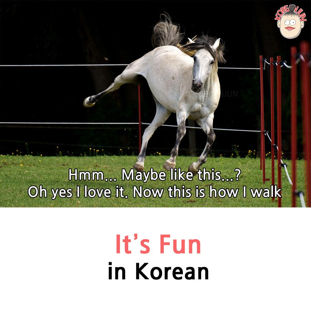 It's Fun in Korean 1
