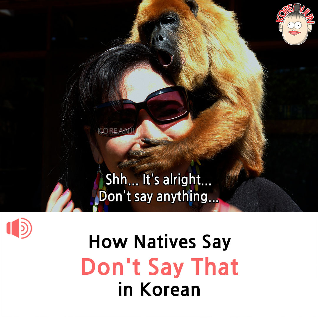 Don't Say That in Korean 1