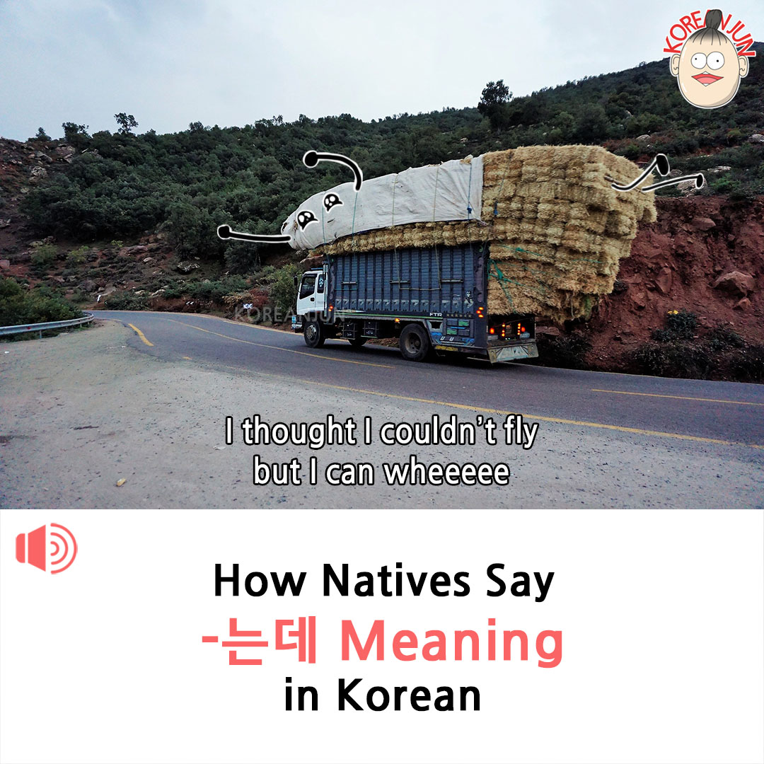 Neunde Meaning in Korean 1