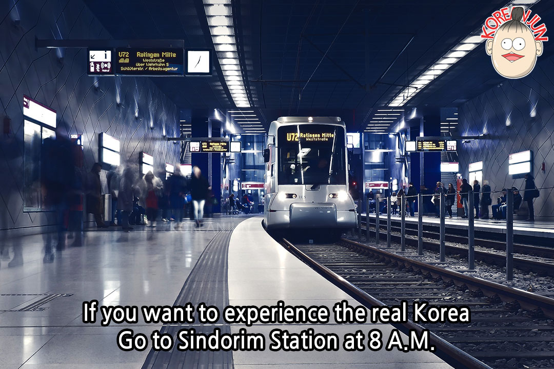 Korean Words for Rush Hour Featured