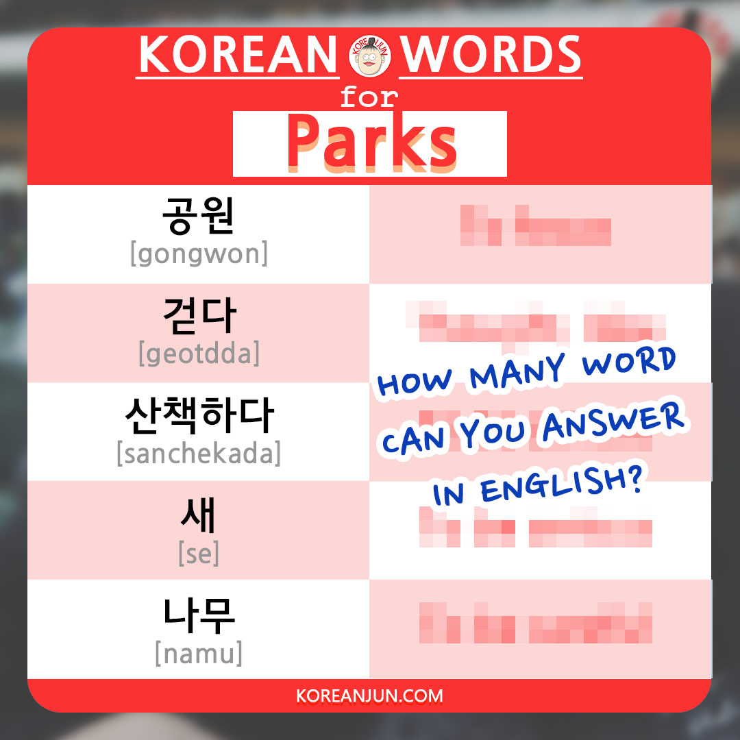 Korean Words for Shops & Stores 1-2
