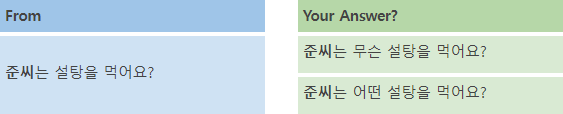 Korean Language Course 28. Wh-Questions 2 1 img
